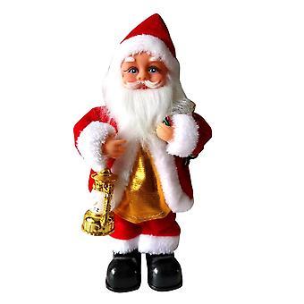 Homemiyn Electric Joulupukki, Joulupukki Tanssii, Joulupukin lelut Joulupukit Sähkönukkeja lapsille, Joulukoristeita