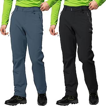 Jack Wolfskin Mens Activate XT Wind Resistant Water Repellent Walking Trousers