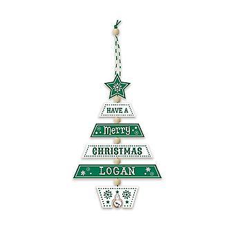 Historia & heraldinen joulukuusen koristelu - Logan 269800554 puinen käsintehty