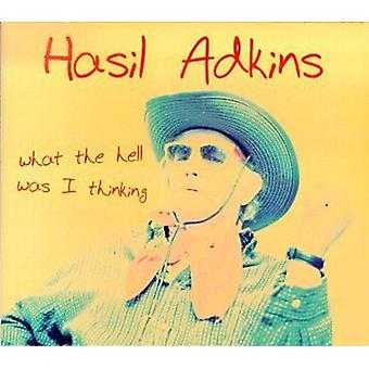 Hasil Adkins - What the Hell Was I Thinking [Vinyl] USA import