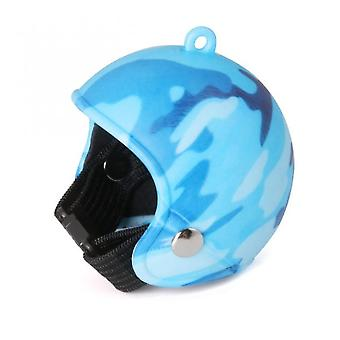 1pc kip helm cap huisdier beschermende uitrusting zon regen bescherming hoofddeksel speelgoed vogel kippen eend klein huisdier