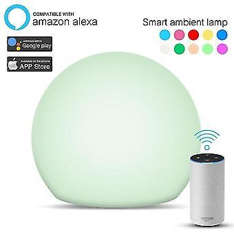 Slimme wifi licht slimme spraakbesturing omgevingslamp muziek ritme verlichting draagbare lamp touch control
