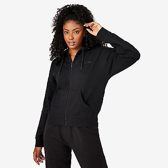 Everlast Womens Zip Through Hoodie Hooded Full Zip Long Sleeve Cotton Casual Top