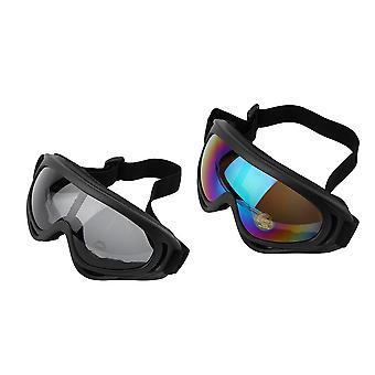 دراجة نارية دراجة سيارات الدفع الرباعي نظارات العين ارتداء الطريق سباق نظارات التزلج نظارات