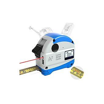 Daniu 30m Laser Afstandsmåler + 5m Anti-fall Steel Tape metrisk og tommer målebåndsmåler høj præcision afstand meter