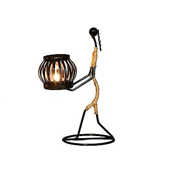 Creative Metal Candle Holder Art Candlestick Decorations