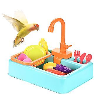 Multifunctionele automatische wastafel voor kleine vogel en papegaai