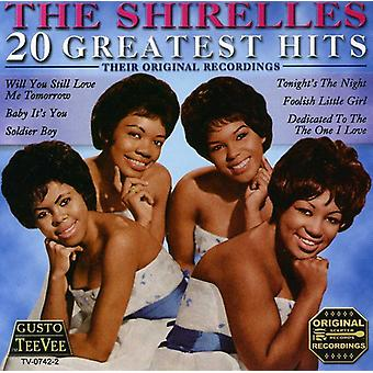 Shirelles - 20 Greatest Hits [CD] USA import