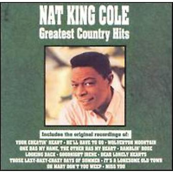 Nat King Cole - Greatest Country Hits [CD] USA import