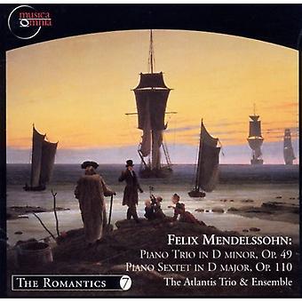 F. Mendelssohn - Mendelssohn: Piano Trio Op. 49: Piano Sextet, Op. 111 [CD] USA import