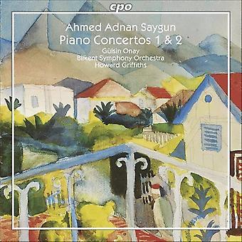A.a. Saygun - Ahmed Adnan Saygun: Piano Concertos 1 & 2 [CD] USA import