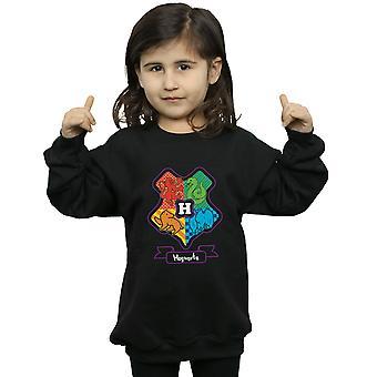 Harry Potter piger Hogwarts Junior Crest Sweatshirt