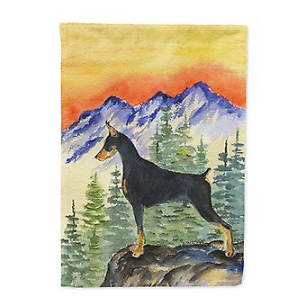 Carolines Treasures  SS8284-FLAG-PARENT Doberman Flag