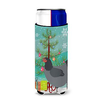 Jersey Giant Chicken Christmas Michelob Ultra Hugger for slim cans