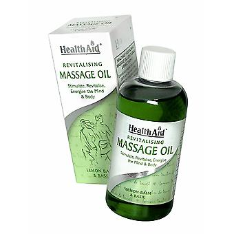 Health Aid Revitalising Massage Oil, 150ml