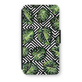 iPod Touch 6 Flip hoes - geometrische jungle