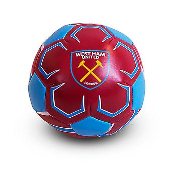 West Ham FC Football officiel Crest Mini balle molle