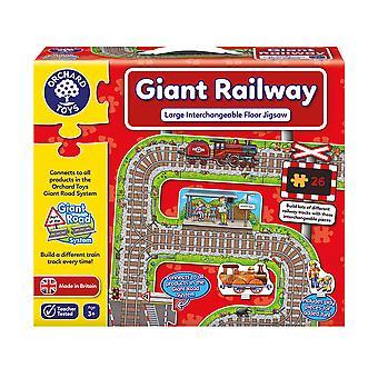Orchard leker gigantiske jernbanen
