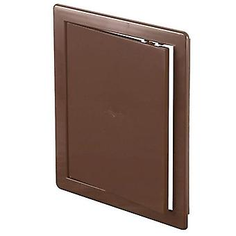 ABS Brown Plastic Durable Inspection Panel Hatch Wall Access Door Various Sizes