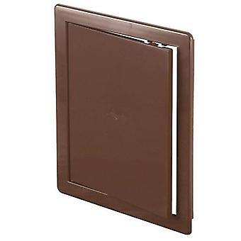 ABS brun plast holdbar Inspection Panel klekkes dør for veggen ulike størrelser