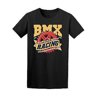 Vintage Bmx Extreme Racing T-Shirt Herren-Bild von Shutterstock