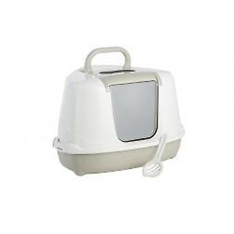 Corner Hooded Pet Flip Loo