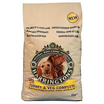 Harringtons perro Turquía & Veg Dry Food Mix 2 kg