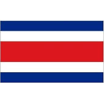 Коста-риканский флаг 5 футов x 3 футов с петельками для подвешивания