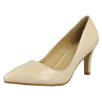 Ladies Anne Michelle Patent Court Heels