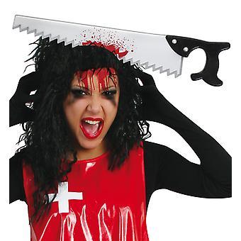 Pannebånd med så Scherzartikle Halloween horror tilbehør