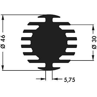 """פישר אלקטרונית SK 598 20 SA כיור חום LED 3.75 K/W (Ø x H) 46 mm x 20 מ""""מ"""