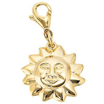Trailer single earrings charm Sun LINI gold 333 followers Sun