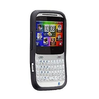 5 Pack -Case-Mate - Tough Case for HTC Status - Black