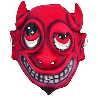 Masca pentru copii diavolul Funny Carnavalul de Halloween