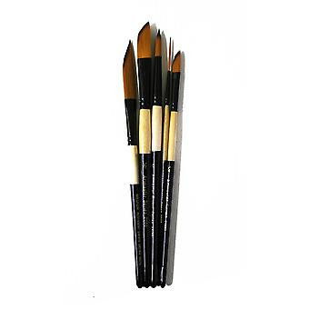 Artmaster 5 Piece Watercolour Brush Set