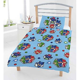 PJ Masks pyjamasheroes Junior duvet set bed set 120x150