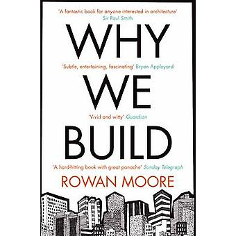 Why We Build by Rowan Moore - 9780330535823 Book