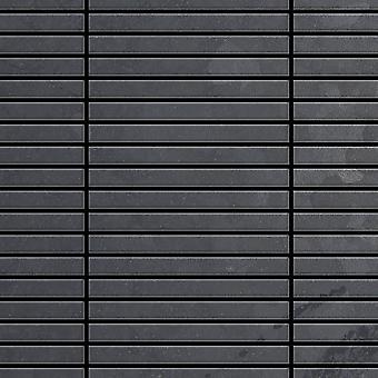 Mozaic metalic brut Steel aliaj liniar-RS