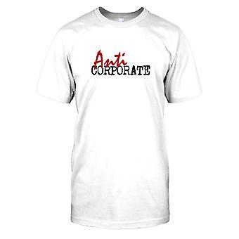 Anti corporativo-Conspiracy Mens T-shirt