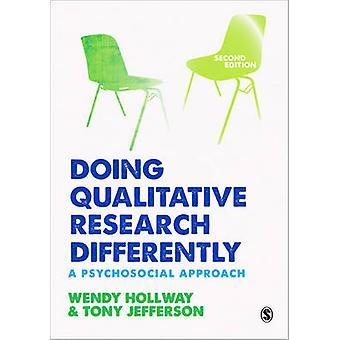 Qualitative Forschung anders - psychosozialen Ansatz machen (2.