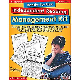 Ready-To-Use Independent Reading Management Kit: Reproducible, Skill-Building Activity Packs That Engage Kids in Meaningful, Structured Reading & Writ