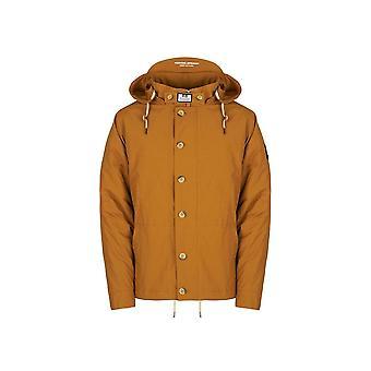 Weekend Offender Brook Jacket In Mustard