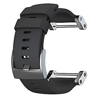 Suunto Core Unisex-Armband, schwarz, flach, Einheitsgröße
