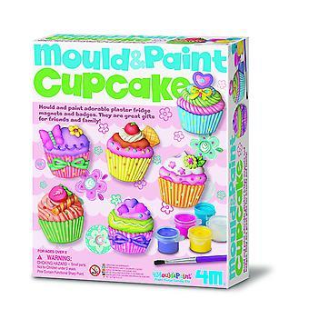 4M moule Cupcake et peinture