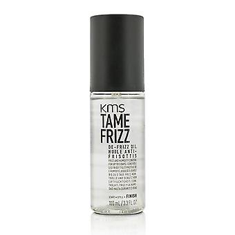 Kms California Tame Frizz De-frizz Oil (provides Frizz & Humidity Control For Up To 3 Days) - 100ml/3.3oz