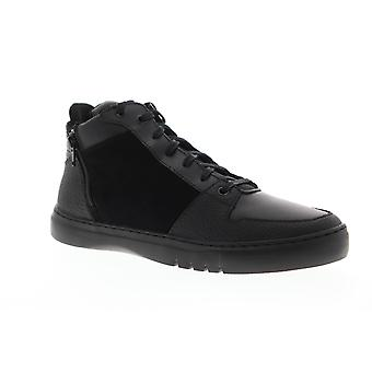 Creative Recreation Adonis Mid Mens Black Leather Zipper High Top Sneakers Shoes