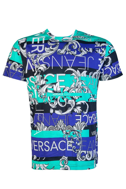 Versace Round Neck T Shirt B3GTA75O 50488