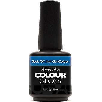 Artistieke kleur glans gel nagellak collectie-impuls (03140) 15ml