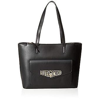 Love Moschino PU tas Tote vrouwen (zwart) 26x13x36 cm (b x H x L)