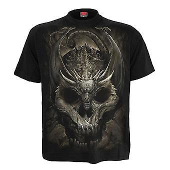 Spiral Draco Skull T-paita
